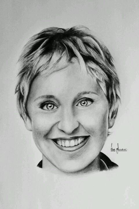 Ellen Degenerous Art Sam Lindner Ellen Degeneres