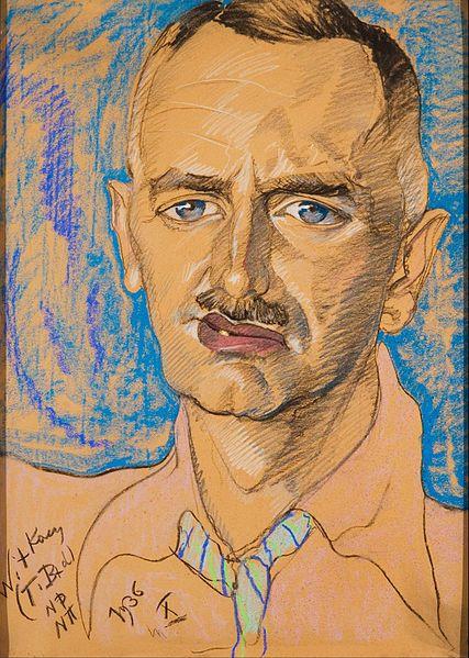 Stanisław Ignacy Witkiewicz - Portret Mieczysława Gajewicza 1936