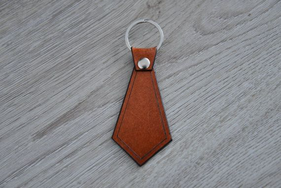 Hey, I found this really awesome Etsy listing at https://www.etsy.com/listing/233399084/necktie-leather-key-chain-gift-for-men