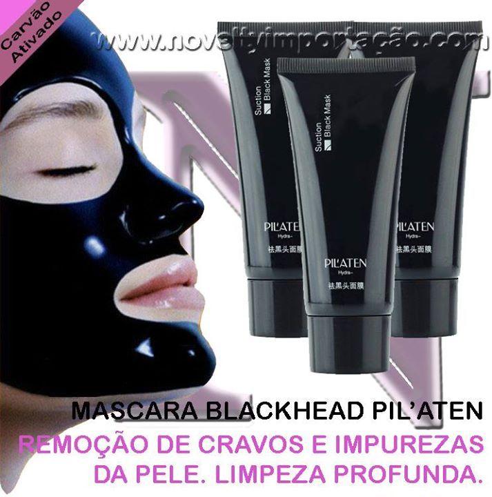 Pele limpa e livre de cravos em 20 minutos!  Mascara de Carvão Ativado Blackhead Pilaten  Compre já a sua!  http://ift.tt/1PTgiCJ