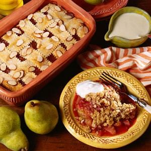 Apricot Cobbler with Custard Sauce | MyRecipes.com - Recipe from Southern Living Magazine