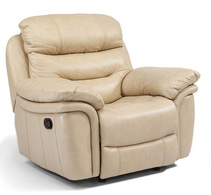 The Westport Reclining Leather Furniture Collection Glider