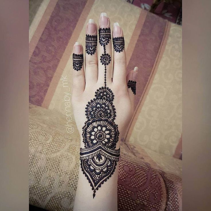 13 Unique Henna Designs Doing The Rounds This Wessing: Unique Mehndi Henna For Hand How Cool Hennaby_mk