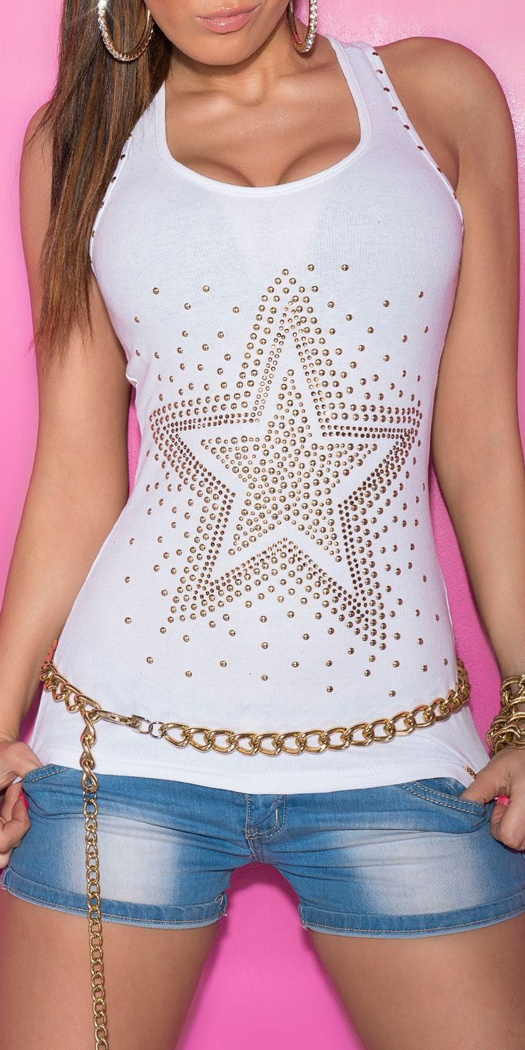 Topy, trika, tuniky | Top - různé barvy | Moda style - Dámská móda, šperky