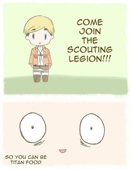Come join the scouting legion! . . . hehehe // SnK - Erwin AKA Commander Handsome