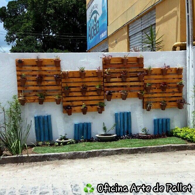 Best 25+ Jardim Vertical Com Paletes Ideas On Pinterest