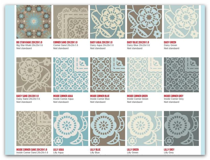 The newest addition to the Pip family is a cement tile collection 1 http://www.tegelbv.com/Producten/Vloertegels1/Piptegels/