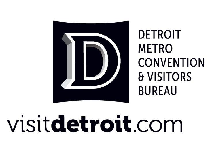 Image result for visit detroit logo