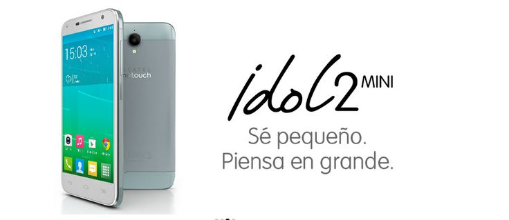 ALCATEL ONETOUCH presenta en el #MWC2014 en Barcelona, los espectaculares IDOL 2 y IDOL 2 MINI: Desarrollados pensando en el desempeño y la capacidad de uso. De acabado metálico cepillado, procesador de 4 núcleos y pantalla IPS, cámara trasera de 8 megapíxeles para capturar vídeo HD y fotos con mejoras de estabilización de imágenes.