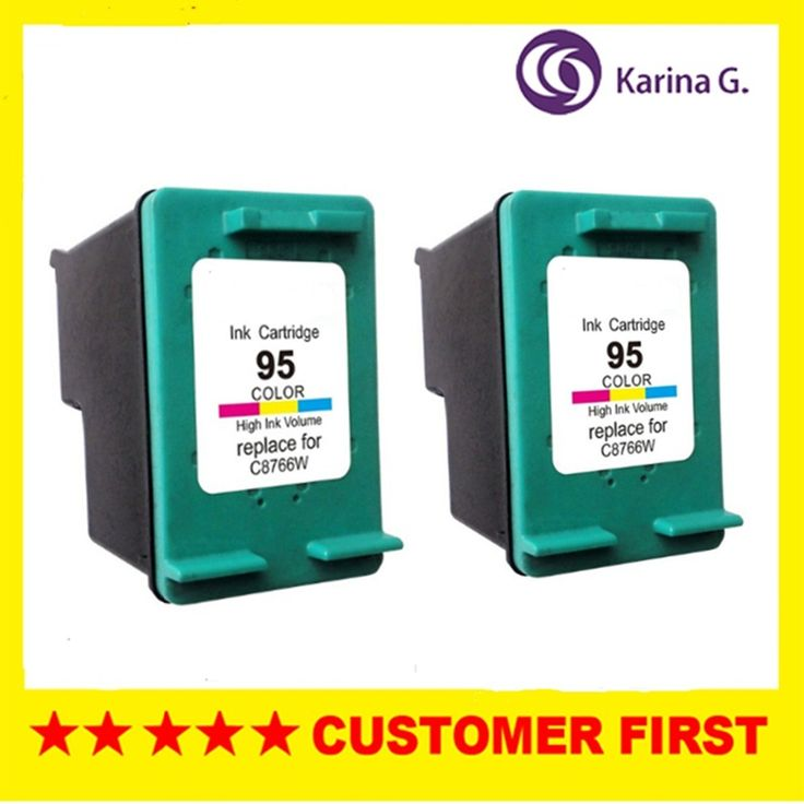 2X  Ink Ccartridge for HP 95 HP95 C8766w for hp95 For HP Printer Inkjet ink for HP 460c 460cb 460wbt #Affiliate