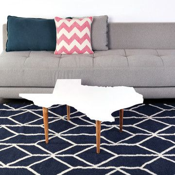 Texas Coffee Table, $295, now featured on Fab.