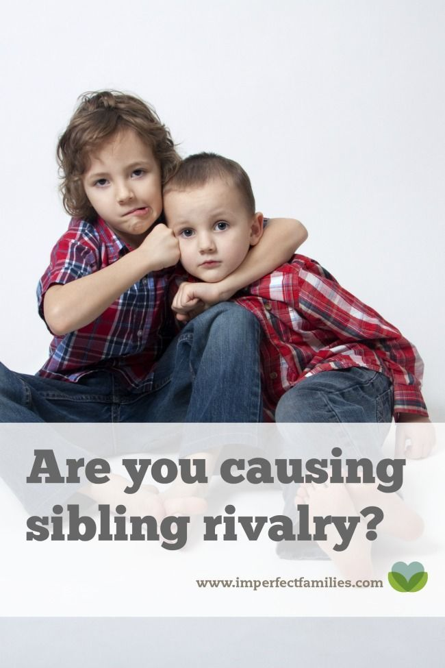 You hate the fighting. You're tired of the arguments. You try everything you can think of to make it stop. But, could you be causing sibling rivalry in your home? Here are some tips to encourage siblings to get along!