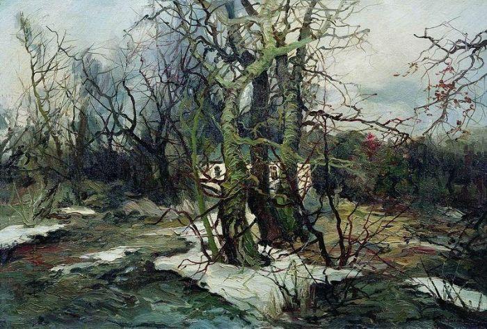 Весна в Малороссии Автор: Колесников Степан Федорович
