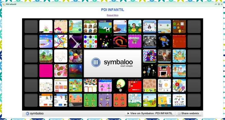 Symbaloo: PDI infantil: Tic Feature, Symbaloo Pdi, Ide Magistr, Symbaloo Infantil, Infant, Pdi Infantil, Ticking, Tic Tac, Game