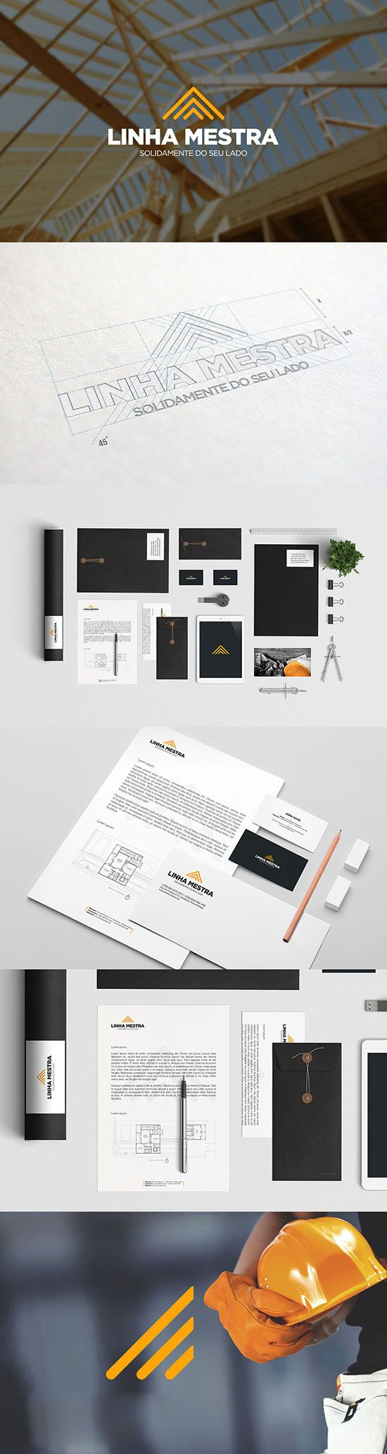 Construction Company Identiity Designs: 17 Inspirational Projects | iBrandStudio