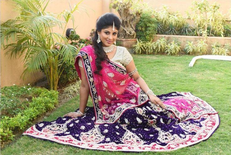 Modern & Stylish #designer #lehenga #choli with different colors, designs & sizes.