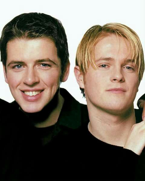 Mark and Nicky Westlife