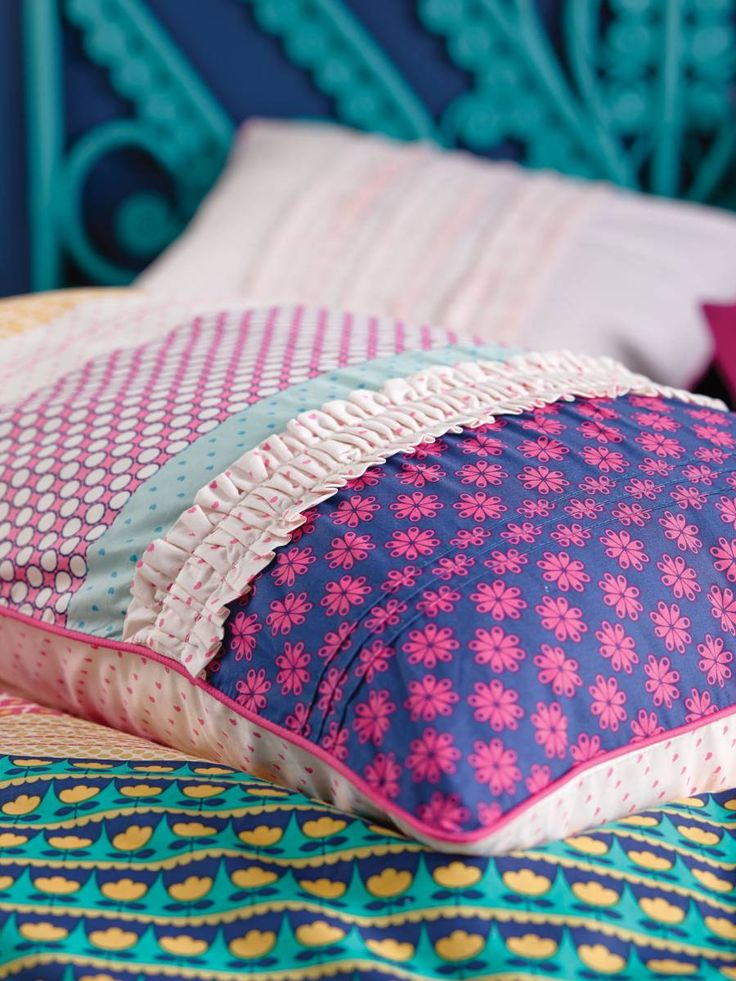 Linen House Anja Quilt Cover set, available at Forty Winks