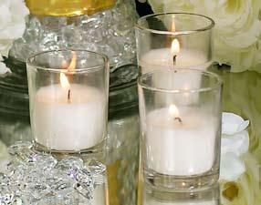 """Wholesale Candles Direct (WCD) - 10 Hour Straight Glass """"Party Votive"""" Poured Votive Candles Case of 75 Filled Glass Votive Candles Bulk, $44.87 (http://www.wholesalecandlesdirect.com/10-hour-straight-glass-party-votive-poured-votive-candles-case-of-75-filled-glass-votive-candles-bulk/)"""