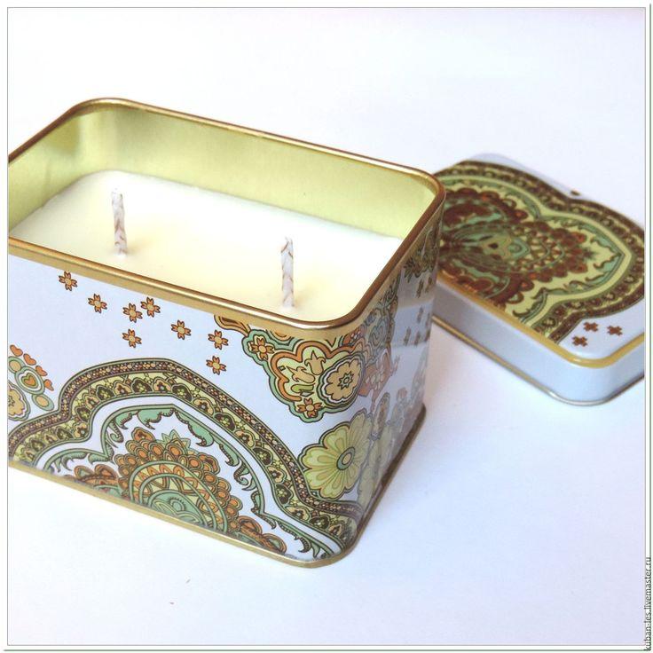 Купить Натуральные соевые свечи Гармония чувств - свеча ручной работы - свеча соевая