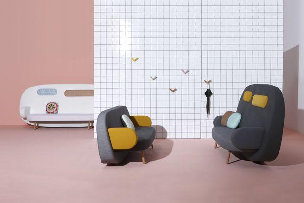 Karim Rashid's Float Sofa for Sancal: Interior Design, Float Sofa, Sofa Collection, Furniture, Sofas, Karim Rashid, Rashid S