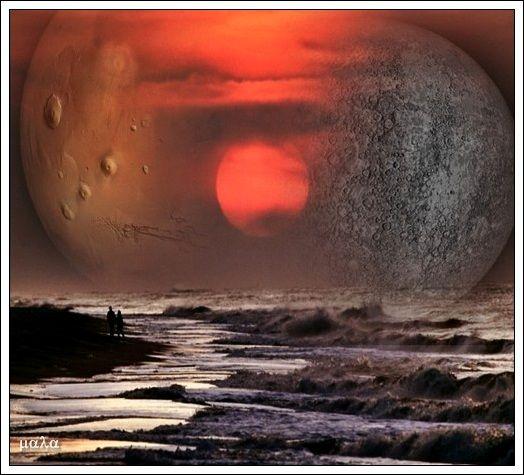 Mars et Mercury
