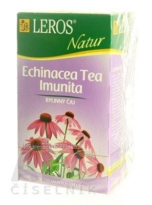 LEROS NATUR ECHINACEA TEA IMUNITA ČAJOVINA - 20x2 g