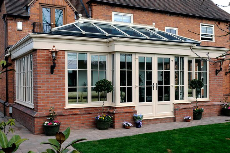 ****PERFECT EXAMPLE - GREAT BRICK & TIMBER ORANGERY