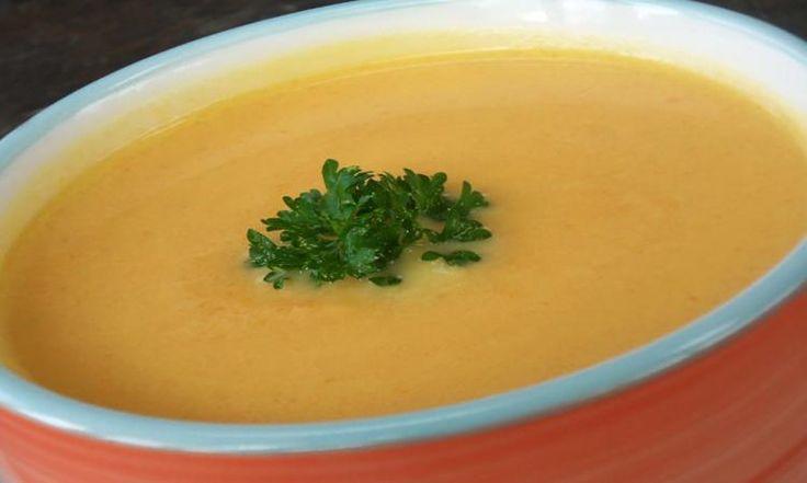 Crème de carottes, navet et sirop d'érable ( facile et délicieuse)