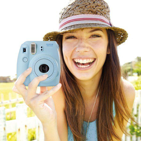 Sofortbildkamera Instax Mini 8 blau von Fujifilm