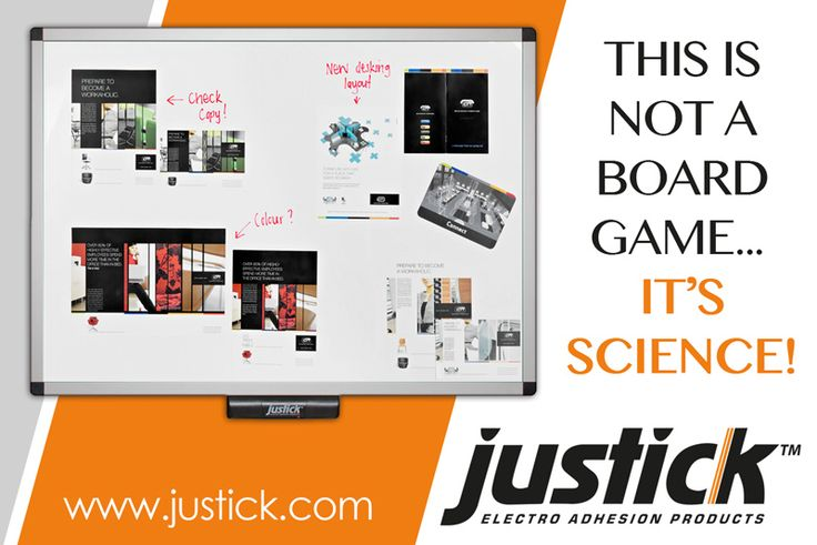 #Justick - This is not a board game... It's Science!