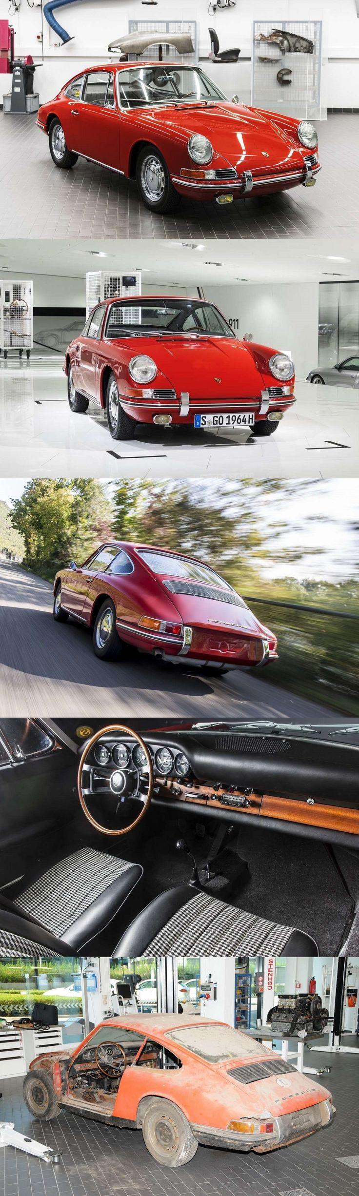1964 Porsche 901 #57 / 17-462 / restored by Porsche Classic / Germany / 911 / red