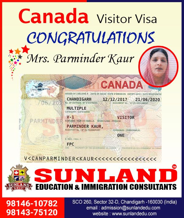 Canada visitor visa for minors