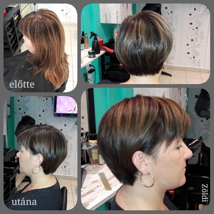 #zöldiszilvia #munkám #mywork #hajvágás #haircut #hajfestés #haircolor