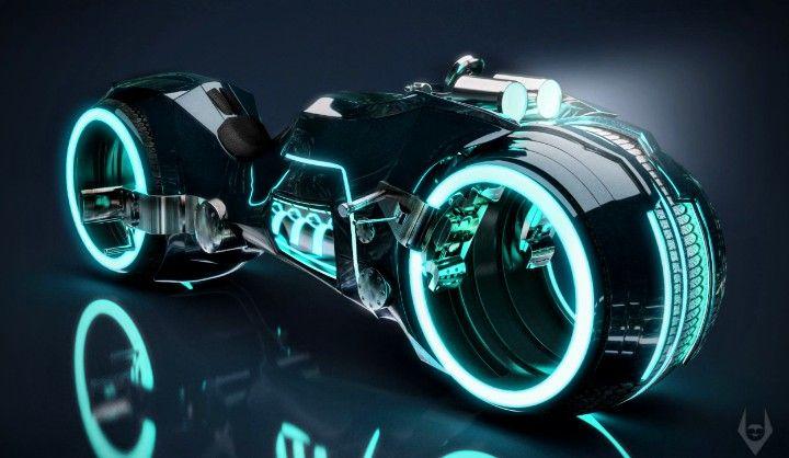 Pin by Savannah Martinez on Digital Art | Tron light cycle, Tron bike, Light cycle