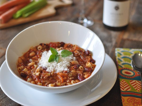 Top Secret Recipes | Olive Garden Pasta e Fagioli Copycat Recipe~ This is a very good soup. My Mom especially likes it.