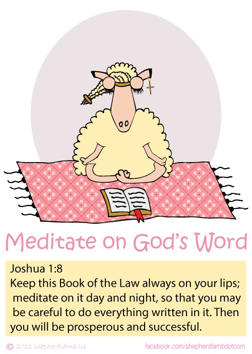 3 Ways to Meditate on the Word of God | Prayer & Possibilities