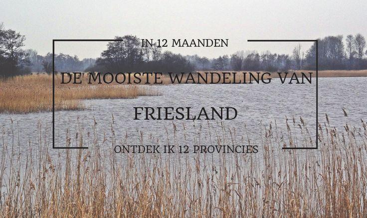 De mooiste wandeling van Friesland is Lâns de Leijen. Deze 17 km lange wandeling loopt langs De Leijen, een van Frieslands kleinste, maar mooiste meren.