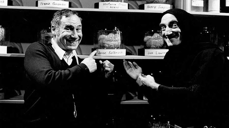 Mel Brooks and Marty Feldman | Rare and beautiful celebrity photos