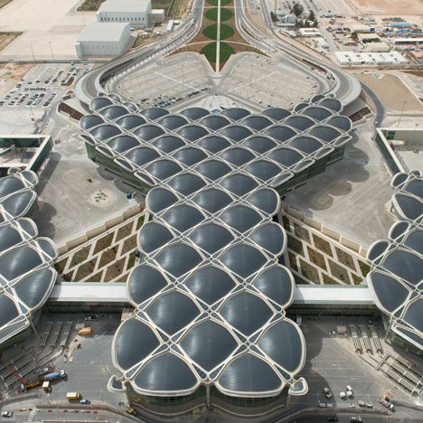 Queen Alia International Airport By Foster Partners Cool Architecturecontemporary