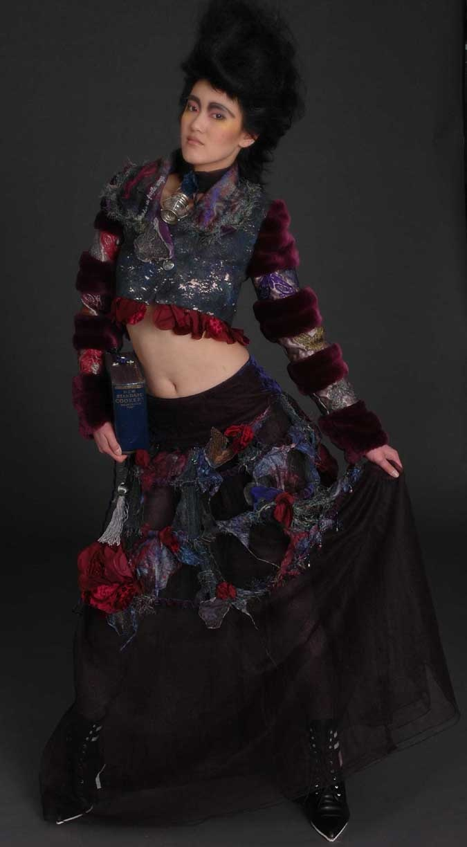 'Moth Cloth'    Designed and made by Kirry Toose  Photographer Hamish Ta-me
