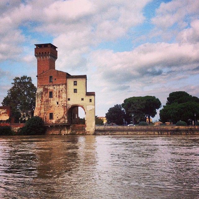 #Pisa ed il suo fiume
