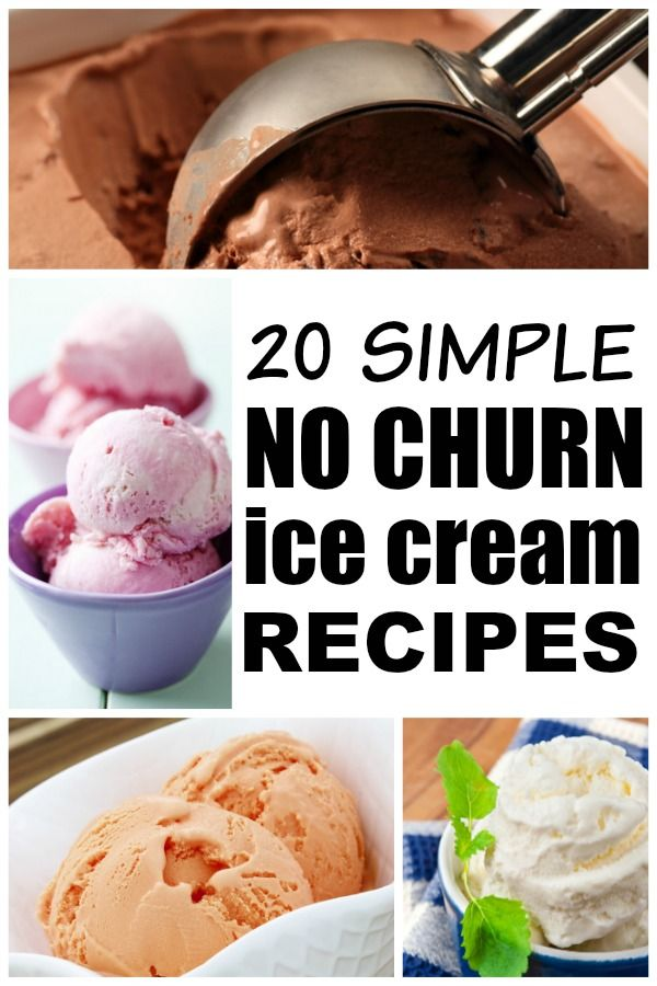 Whether you like to stick to the basics (vanilla, strawberry, or chocolate), prefer something with oooompf (s'mores, oreo, or cheesecake), or want a healthy alternative (peach frozen yogurt or skinny cake batter), thos collection of easy homemade no-churn ice cream recipes has you covered!