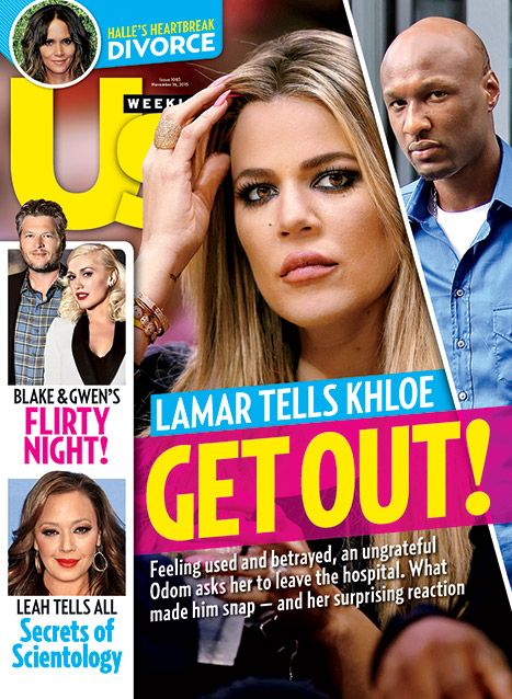 "Lamar Odom Tells Khloe Kardashian to ""Get Out"" After Hospital Drama - Us Weekly"