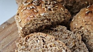 Pão de Farinha de Espelta e Sementes