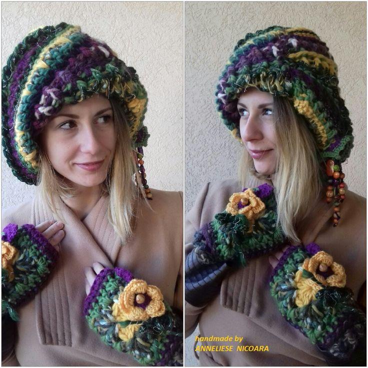 winter set :Hat & Mitens