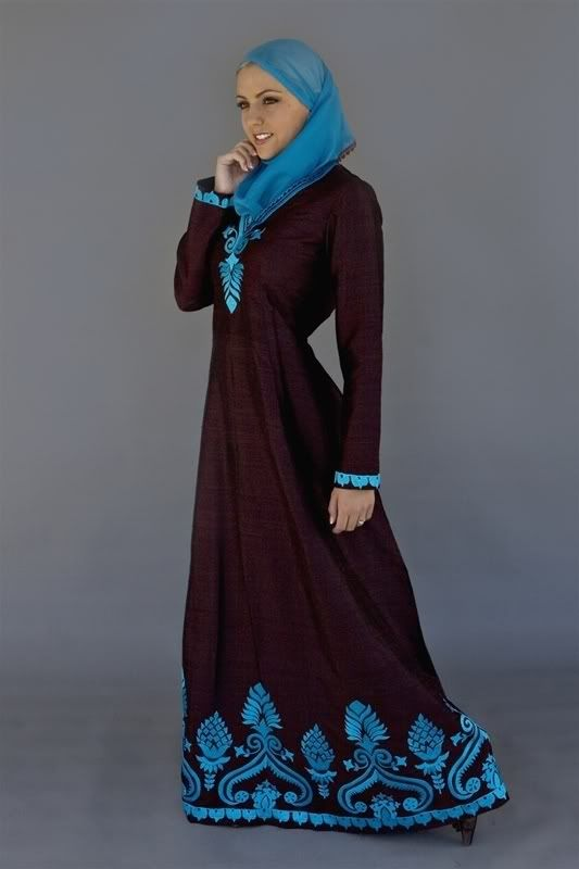 Creative Islamic Topcoat Clothing For Hijab Girls And Women 2013 Islamic