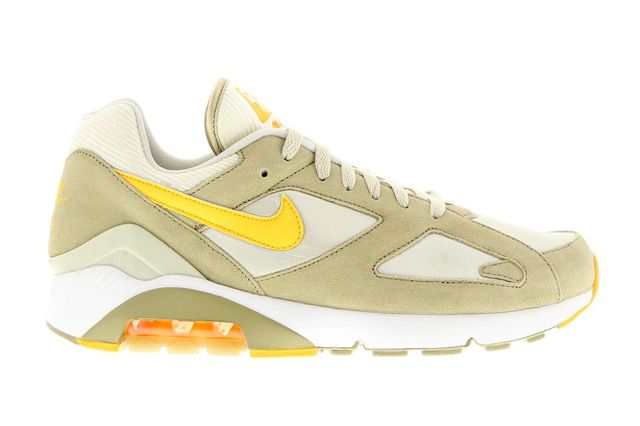 NIKE AIR MAX 180 (LIGHT BEIGE/ATOMIC MANGO) - Sneaker Freaker
