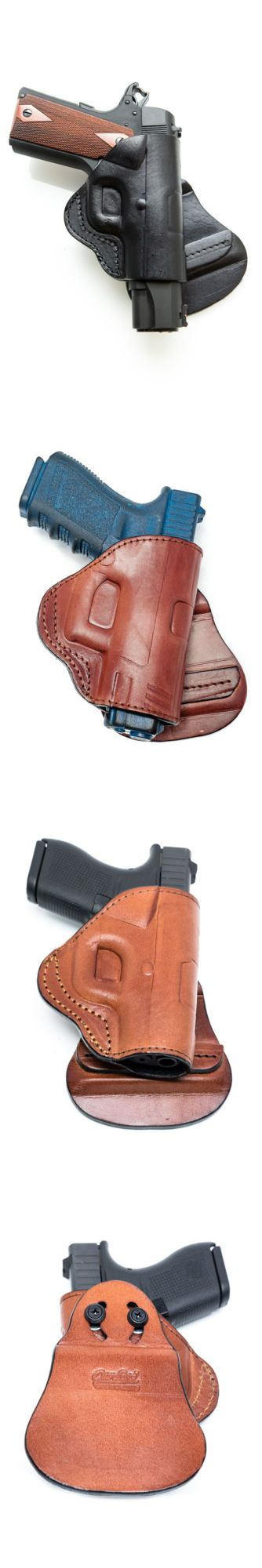 Holsters 177885: Paddle Leather Holster Fits Taurus Pt92 - Black Brown - Right Left -> BUY IT NOW ONLY: $41.95 on eBay!
