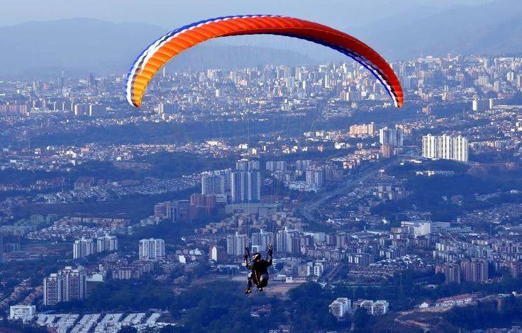 Parapente en Santander Colombia Foto JorgeFigueroaClausen
